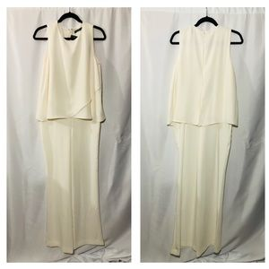 Ralph Lauren Formal Ivory Romper